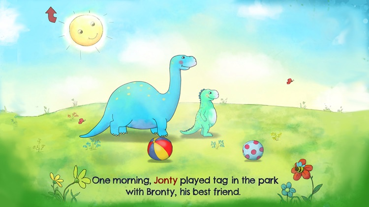Jonty The Dinosaur's Bedtime screenshot-1