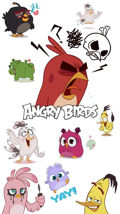 Angry Birds Stickers screenshot-3