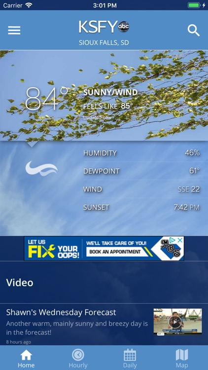KSFY WX screenshot-0