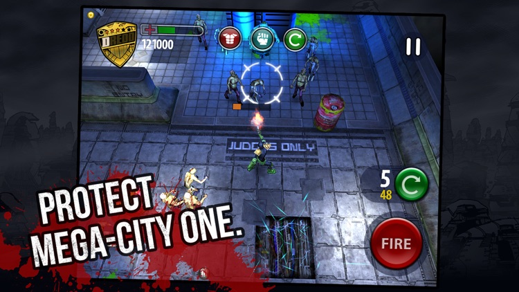 Judge Dredd vs Zombies screenshot-0