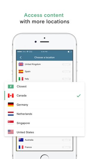 Opera VPN Screenshot