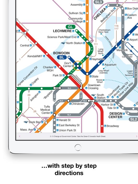 Seoul Subway Map 1989.Boston T Map Mbta Subway Map App Price Drops