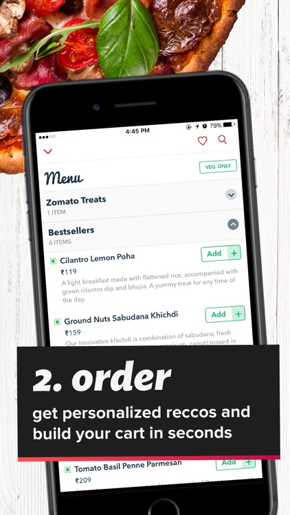 Order by Zomato