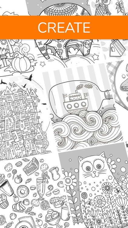 Coloring Book for Family •