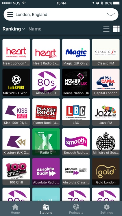 British FM Radio - Live Player