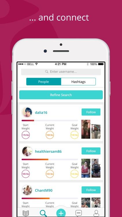 Twinbody weight loss community screenshot-4