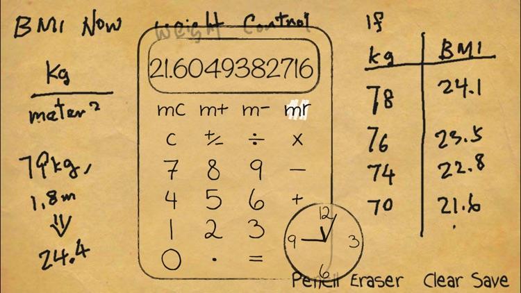 Paper Calculator & Clock screenshot-4