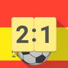 Uitslagen voor La Liga 2017 / 2018 Voetbal App