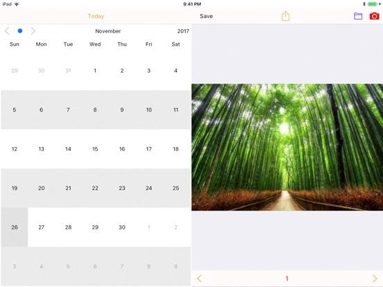 PhotoCalendar - record life screenshot 5