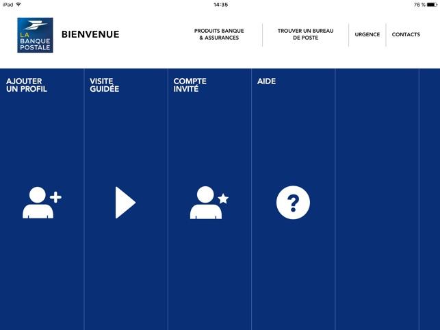 La Banque Postale Dans L App Store
