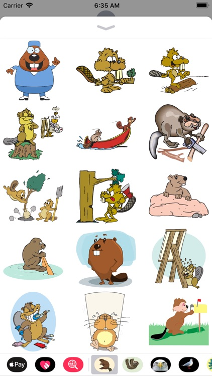 Best Beaver Stickers screenshot-1