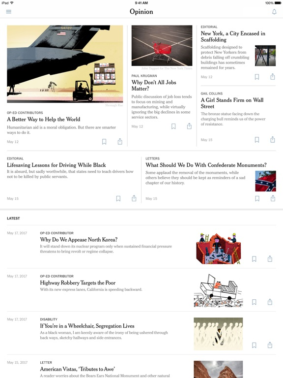 Screenshots for The New York Times