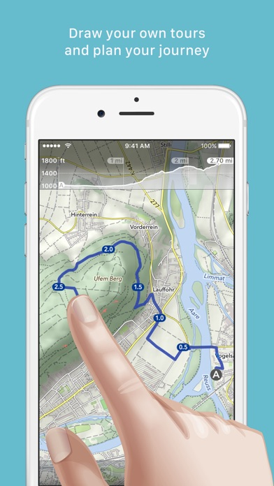 Screenshot for MapOut in United States App Store