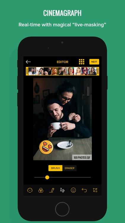 100 Photos to GIF Maker GIFs screenshot-3