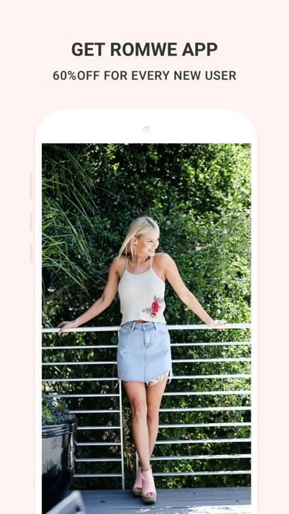 Romwe shopping- Fashion Clothing for women