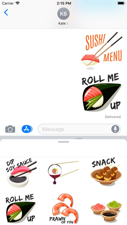 Asia Japan Sushi Stickers