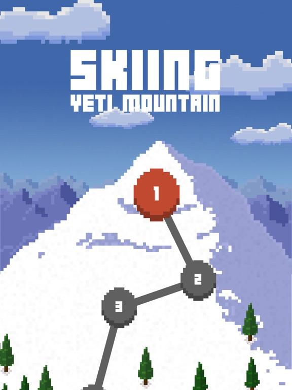 Skiing Yeti Mountainのおすすめ画像1