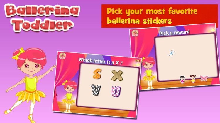 Ballerina Toddler Kids Game screenshot-3