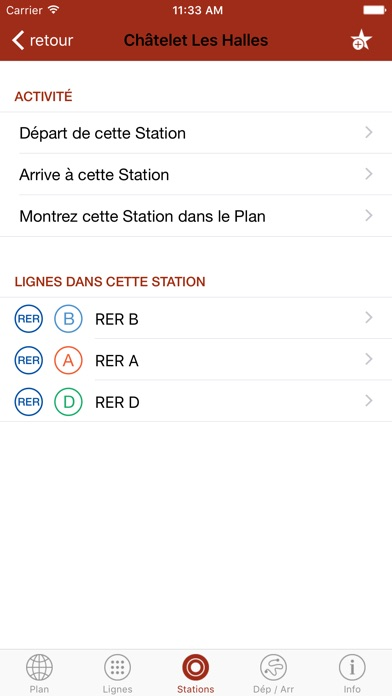 Screenshot for Paris en Métro in Lebanon App Store