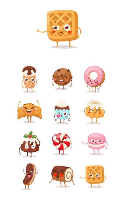 Sweets Stickers screenshot-3