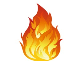 Fire Party Stickers