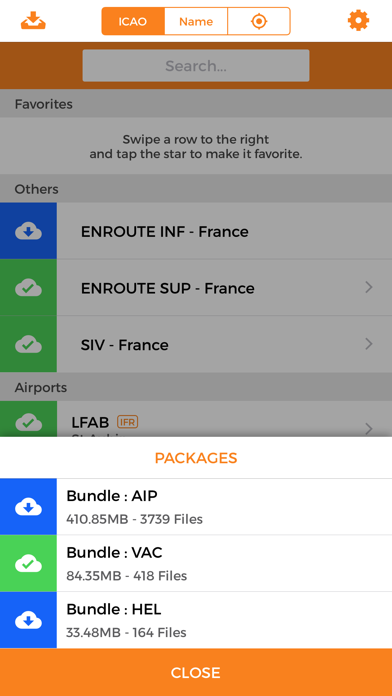 VFR & eAIP French Charts screenshot two