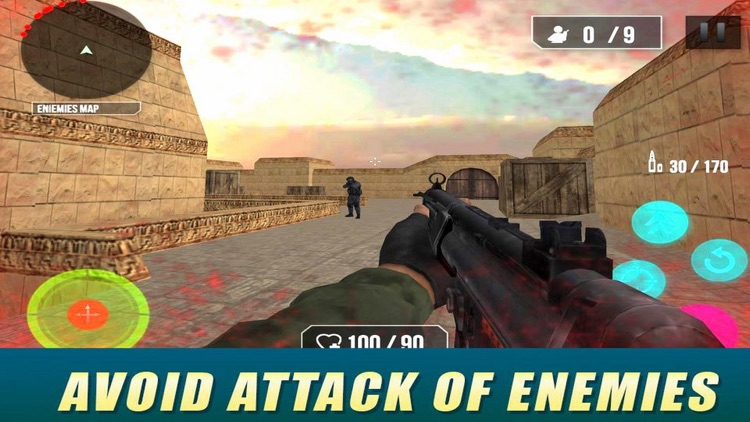 Swat FPS Fire 3D