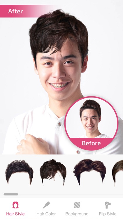 Hair Changer Hairstyle Makeover Hair Editor By David How