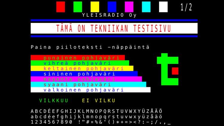 Teksti-tv deluxe