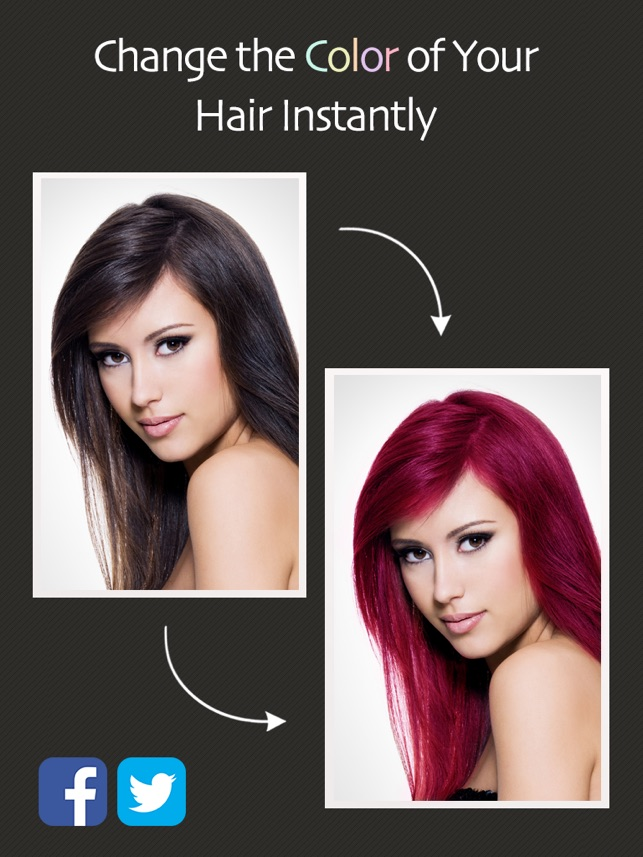 Hair Color Booth On The App Store