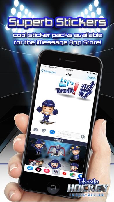 Toronto Hockey Emojis Screenshot 4