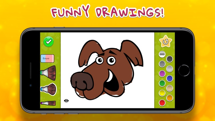 Coloring Your Dogs screenshot-0
