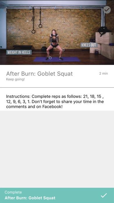 Badass Body X Fitness screenshot 4