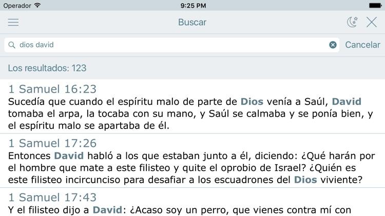 La Biblia de las Américas screenshot-3