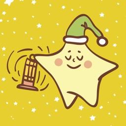 Cute Star and Cloud Emoji
