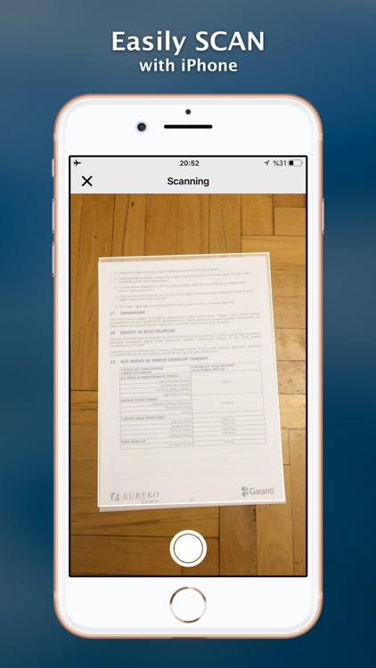 Scanner+ Scan PDF Documents