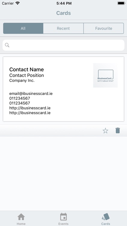 iBusinessCard screenshot-3