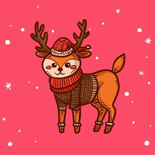 AnimalMoji Sticker for Winter