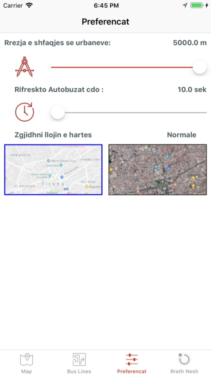 Tirana Public Transport screenshot-4