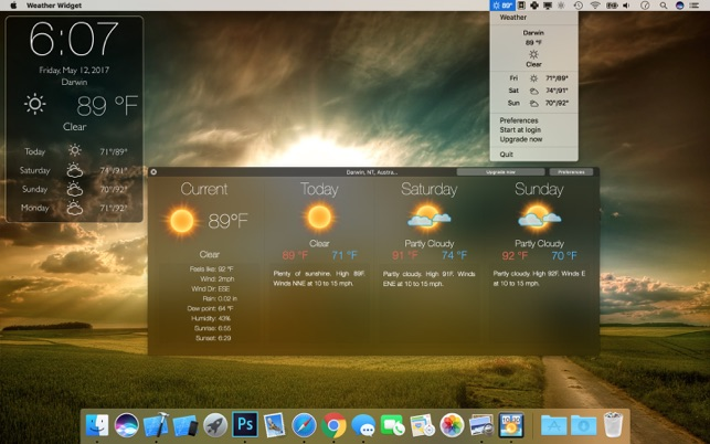 Weather Widget Desktop on the Mac App Store