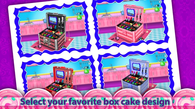 Cosmetic Box Cake Game Make Edible Beauty Box On The App Store