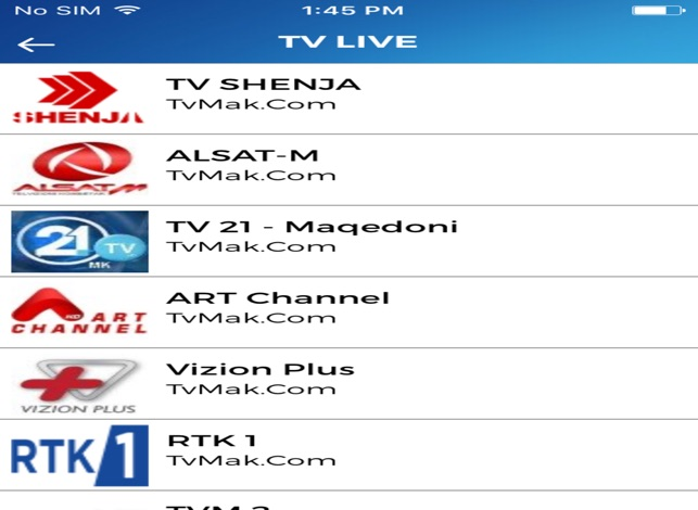 TvMAK Com -SHQIP TV on the App Store