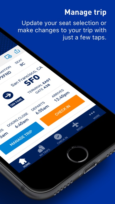 JetBlue - Book & manage trips iPhone