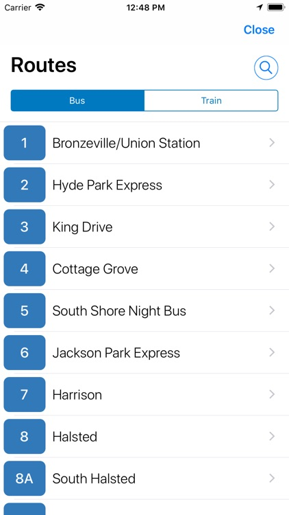 Transit Stop: CTA Tracker. screenshot-4