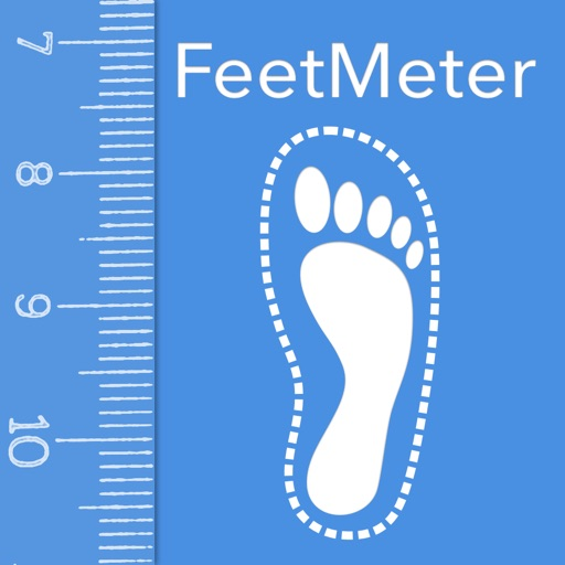Feet Meter shoe and foot size