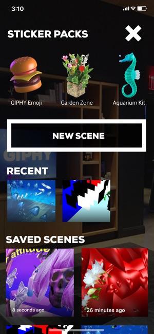 GIPHY World: AR GIF Stickers Screenshot