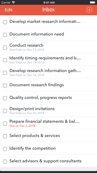 GTD Office: Tasks & Calendar screenshot four