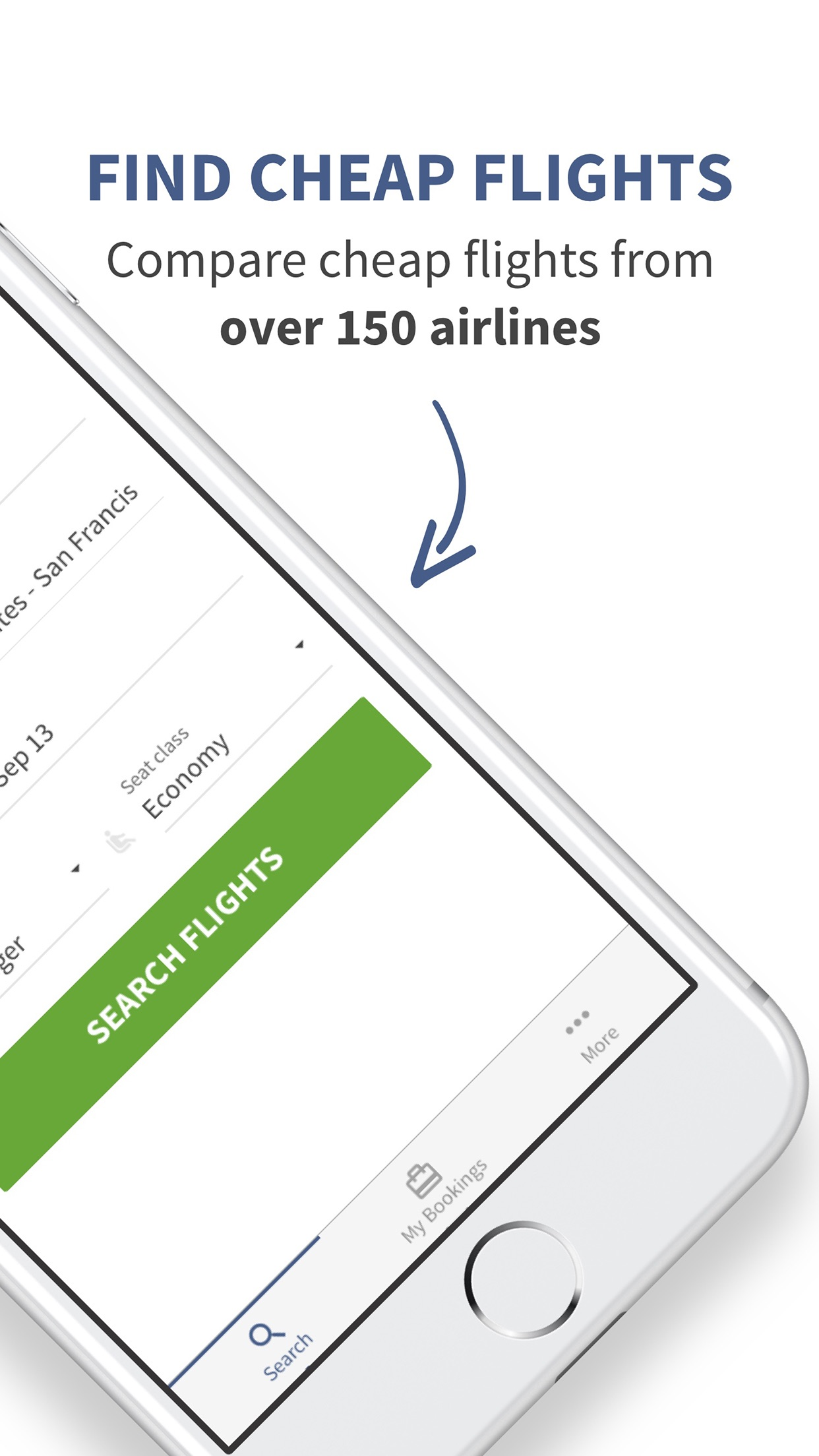 Justfly.com Book Cheap Flights Screenshot