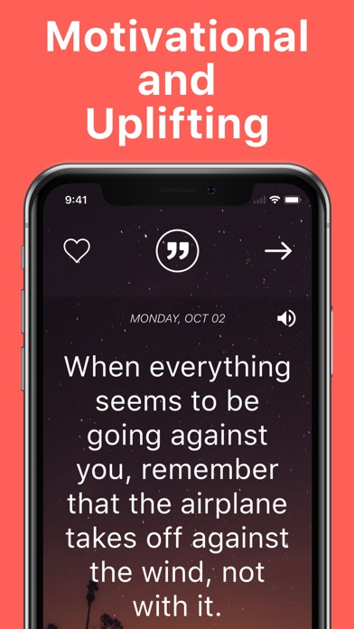 Daily Motivation App - Quotes