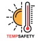 TempSafety provides an alarm notification when the official temperature, via the Bureau of Meteorology (BoM), exceeds a safety limit that is set by you, the user